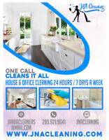 One call Cleans it all! J&A CLEANING