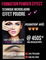 Formation MICROBLADING  POWDER EFFECT !! PROMOTION NOËL !!!