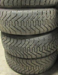 4 good used tires 14 inch=185=65=14===85-90% Tread Remaining Gau