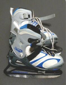 patins de hockey ajustable (4 à 7 ans) pour garçon