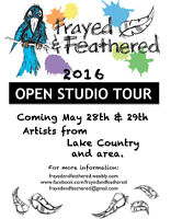 The Frayed and Feathered Open Studio Tour 2016