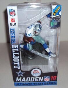 NFL Madden18 Ezekiel Elliott Dallas Cowboys figure BNIB
