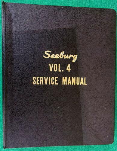 1960 Seeburg Jukebox Select-O-Matic AQ Q AY 100 160 222 Master Service Manual