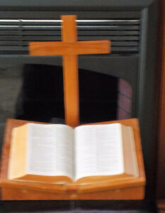 104 year old Bible Stand