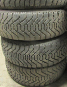 4 good used tires 14 inch=185=65=14===85-90% Tread Remaining