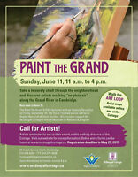 Artists Join Us For this Year's Paint The Grand