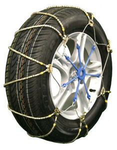 Tire Chains: A1034 LIGHTNING EZ FIT CABLE CHAIN NEW