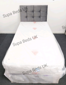 💙BRAND NEW SINGLE DIVAN BED SETS ON SALE + MATTRESS. VIEWINGS WELCOME