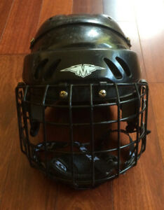 Kids Small Mission ITECH Hockey Helmet with Face Cage