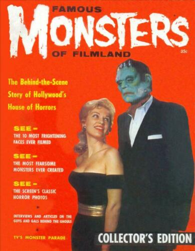Famous Monsters of Filmland #1 Photocopy REPLICA Magazine