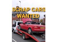 All Scrap cars wanted cash for cars mot failured