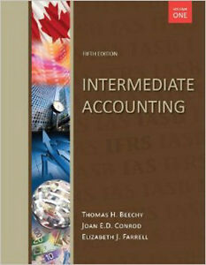 NEW - Intermediate Accounting, Vol 1, with Connect, 5th Edition