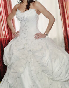 Europa Couture custom made wedding gown