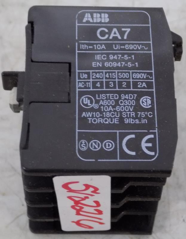 ABB CA7-22E CONTACTOR