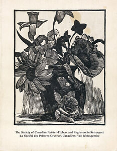 PRINTMAKING CANADIAN ART SOCIETY OF PAINTER-ETCHERS AND ENGRAVER