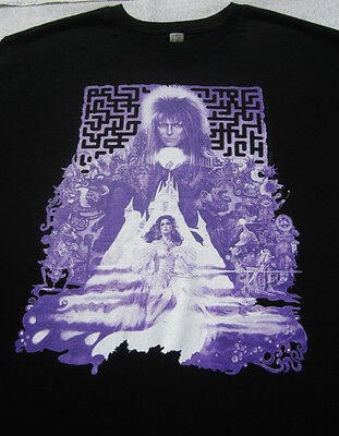DAVID BOWIE labyrinth LARGE T-SHIRT