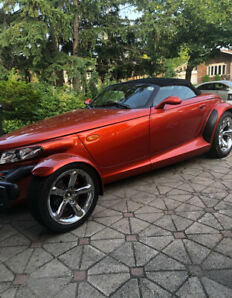 2001 prowler collectors edition in sunburst