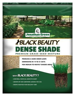 Jonathan Green 10620 Black Beauty Dense Shade Grass Seed Mixture, 7 Lb (Dense Shade Grass Seed)