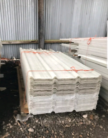 Fiberglass metal and insulated roofing sheets