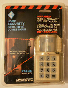 Infrared Motion Activated Security Alarm (new; opened packaging)