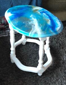 beautiful custom resin tables