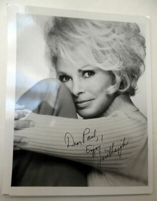 JANET LEIGH Autographed PHOTO Actress PSYCHO Halloween H20 Horror CLASSIC - Janet Leigh Halloween