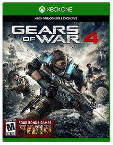 Gears of War 4 BRAND NEW ON RELEASE DAY FRIDAY Xbox One
