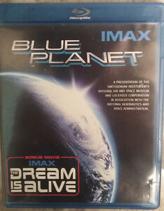 Blue Planet IMAX with Bonus Movie The Dream is Alive BLU-RAY