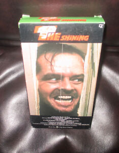 STANLEY KUBRICK'S  - THE SHINING....VHS
