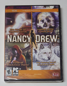 Nancy Drew - 4-Pack PC Games - New and Unopened