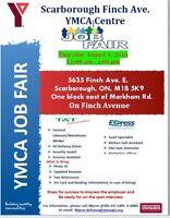 YMCA Job Fair Thursday, Aug 04/2016  11am - 2pm