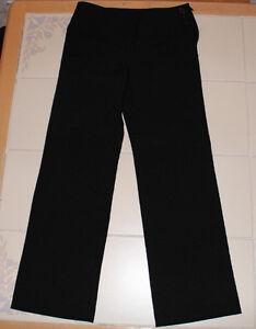 Girls George brand black dress pants size 8 *NEW