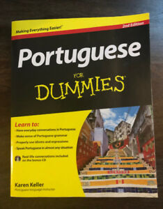 Portuguese For Dummies Paperback & CD