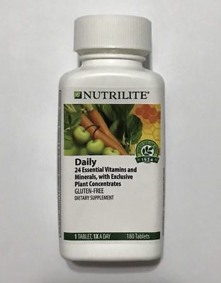Amway Nutrilite Daily Multivitamin 180 Tablets  A4230  Exp 12 2018