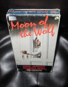 MOON OF THE WOLF....VHS MOVIE