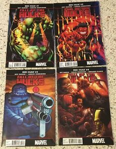 Red She Hulk World War Future Imperfect End Thing Comic lot