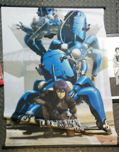 Ghost in the Shell Poster wall scroll Anime
