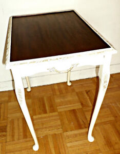 Antique Table/Tray: a decorative/accent piece, refinished