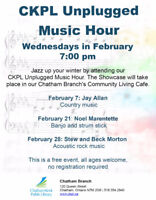 CKPL Unplugged Music Hour