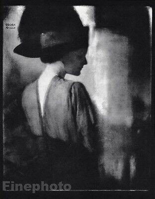 1910/63 Vintage AGNES MEYER Eugene FASHION Hat Photo Art 11x14 ~ EDWARD STEICHEN
