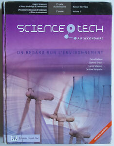 4e secondaire, Science tech, Éditions Grand Duc
