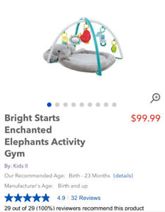 Selling Bright Starts Activity Gym