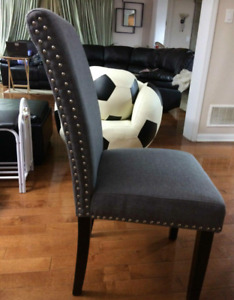 Brand new dining chairs. inboxes. Grey beige black blue brown