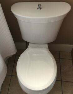 Two toilets for sale.