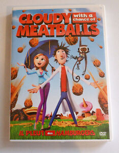 Cloudy with a chance of meatballs - DVD St. John's Newfoundland image 1