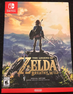 Zelda Breath Of The Wild Special Edition for sale or trade