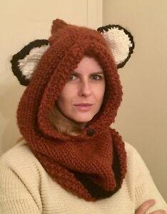 Fall/Winter Knitted Fox Cowl/Hood Kingston Kingston Area image 4