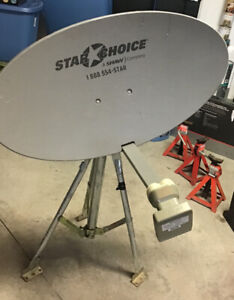 Antenne Shaw direct avec support portatif $40