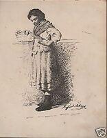 Artista Belliazzi_arte_folklore_costumi Napoletani_antica Stampa_decorativa_'800 -  - ebay.it