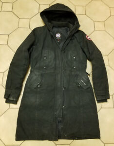 CANADA GOOSE DOWN PARKA JACKET WOMEN'S LARGE